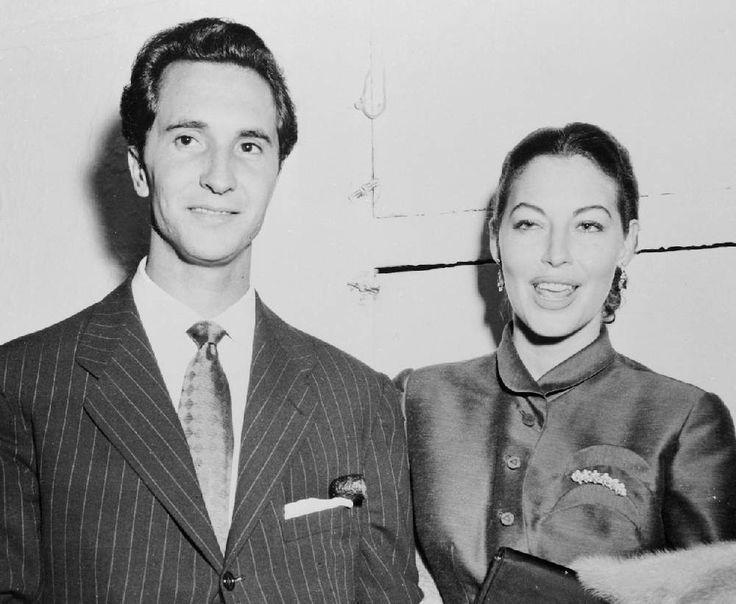 AVA GARDNER with lover Luis Miguel Dominguin