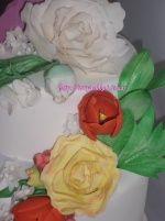 Сахарные цветы, фигурки из мастики или марципана( мои работы) (страница 4) : фотографии Разное