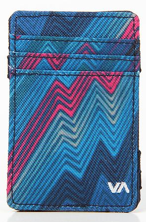 The Magic Wallet Lite in Military by RVCA