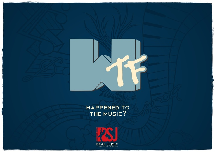 Dear _usic channels, take notice and give me my 'M' back.    Sincerely,   Music