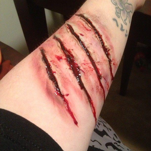 Werewolf Claw Scratch | Werewolf Scratch Tattoo Scratches by scarahscrewdriver