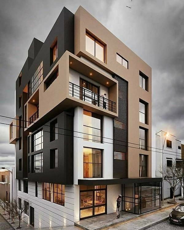 Modern apartment building Follow @idreamhouse for more ...