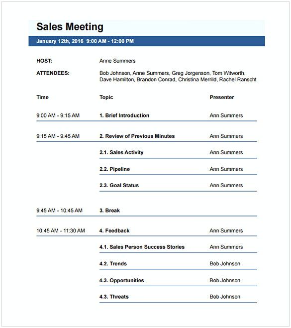 20 Free Download Meeting Agenda Templates For An Effective Business Meeting Meeting Agenda Template Agenda Template Meeting Agenda