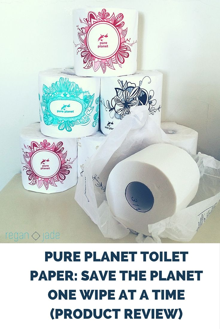 PURE PLANET TOILET PAPER: SAVE THE PLANET ONE WIPE AT A TIME (PRODUCT REVIEW)