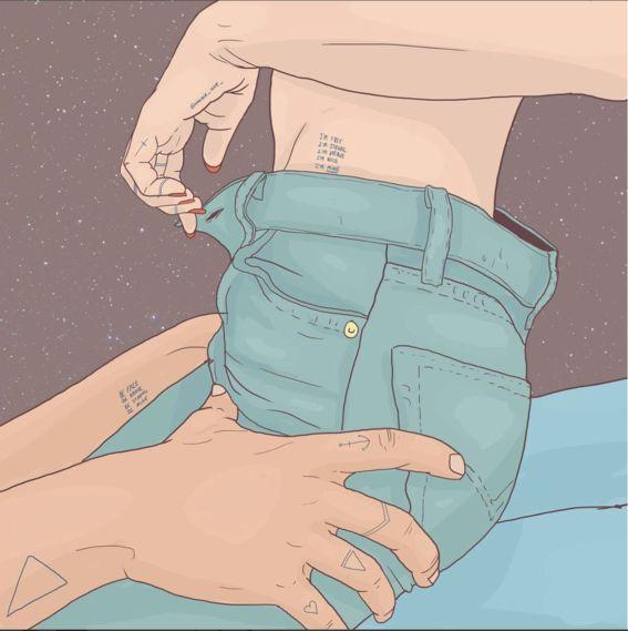 Ilustraciones de María Uve para darte cuenta de que estás con el amor de tu vida