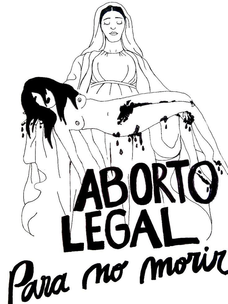 muros-feministas: ABORTO LEGAL PARA NO MORIR! - #feminist