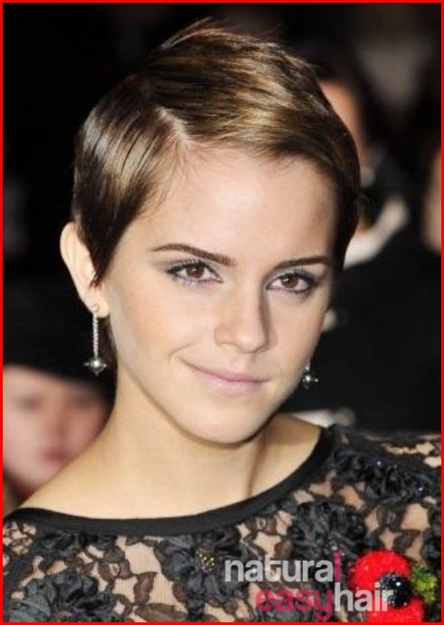 Emma Watson S Short Hairstyle Landed Her On The Edge Of Lancome