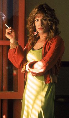 "l Garcia Bernal in Pedro Almodovar's ""Bad Education"". Terrific movie if you haven't seen it."
