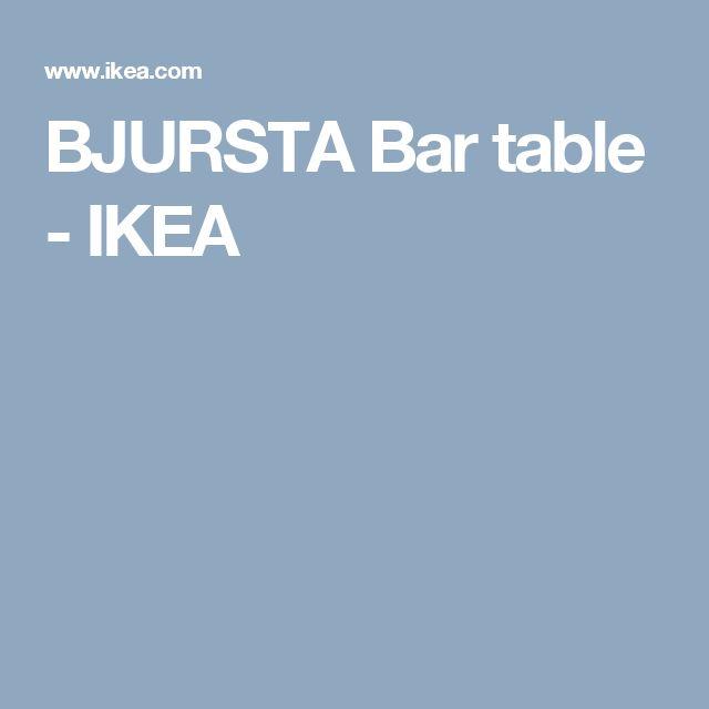 BJURSTA Bar table - IKEA