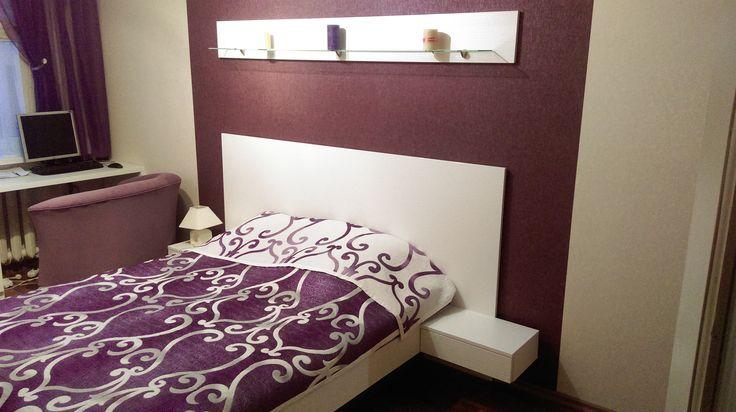 Картинки по запросу кровать с тумбочками как часть изголовья