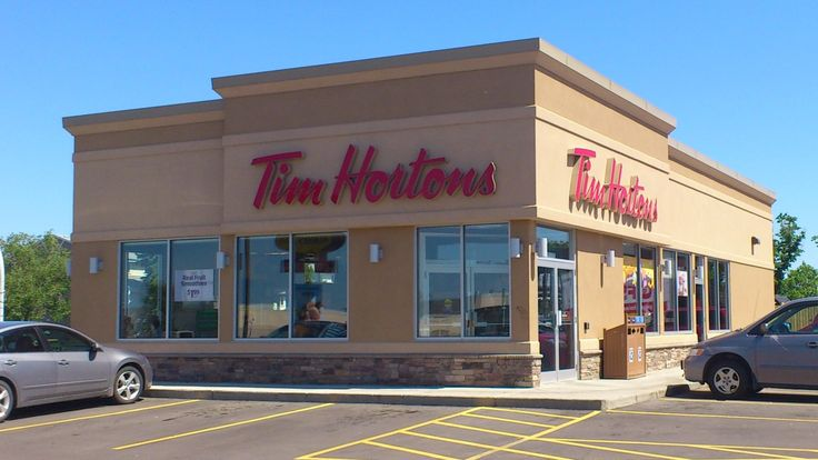 #TimHortons store, you can find it everywhere in #Canada. It offers #coffee, #tea, different kind of #drinks, #sandwich and #desserts. Some of TimHortons location also offer #icecream, #AlwaysFresh. #MKM915