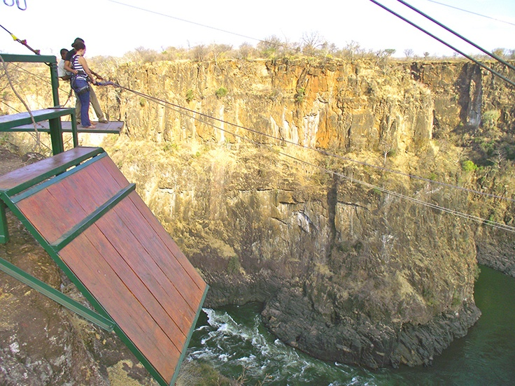 Gorge Swing. Victoria Falls, Zimbabwe