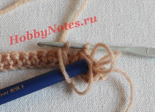 Кудрявый паричок для куклы крючком