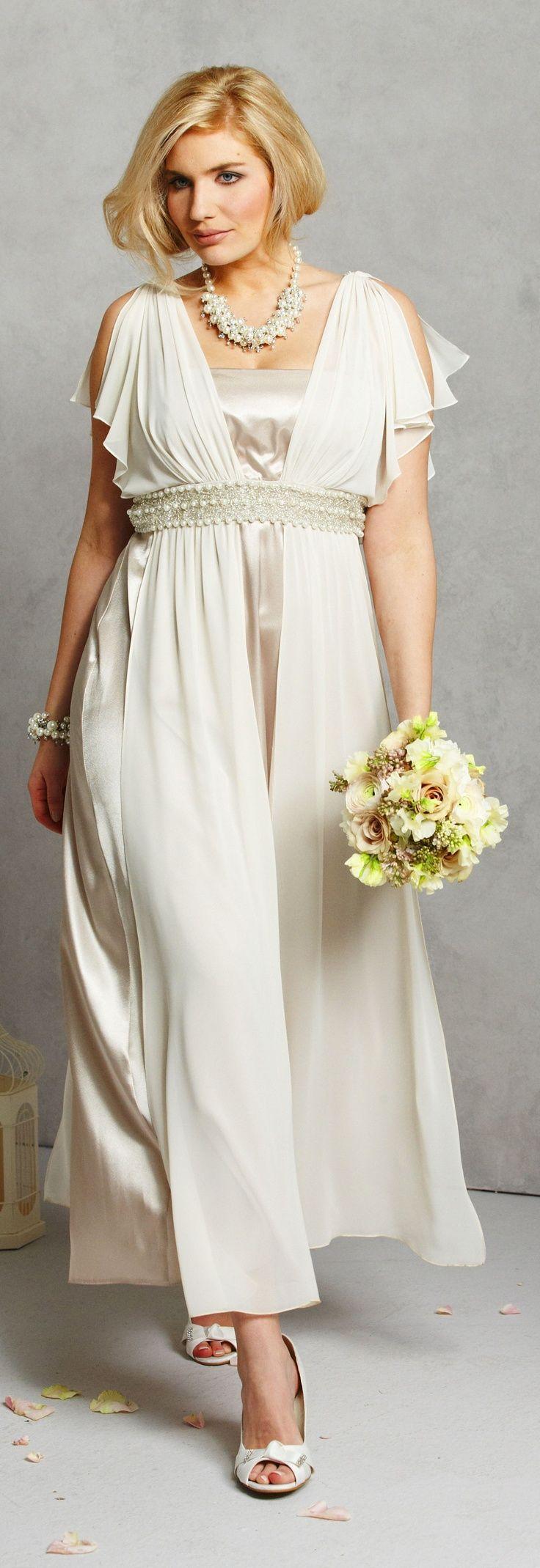 17 best images about mature beauty bride on pinterest for Sophisticated wedding dresses older brides