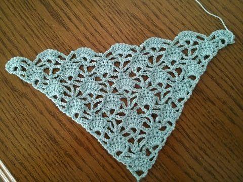 Crocheted scarfs