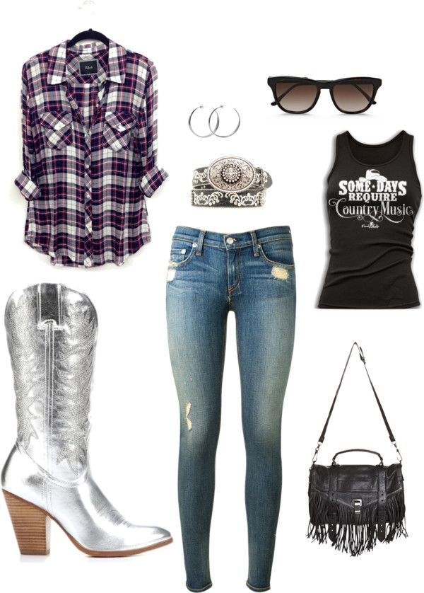 Cute outfit to wear to the PBR World Finals in Vegas! http//www.countryoutfitter.com/style/wear ...