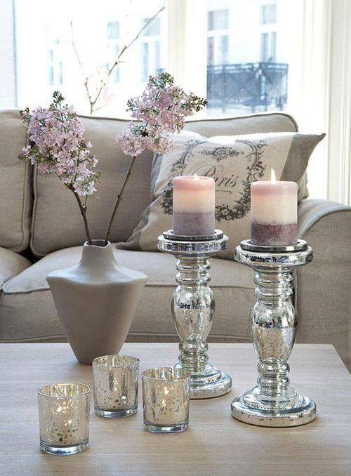 Coffee table decor idea un color que nunca se pasa de temporada, es elegante y…