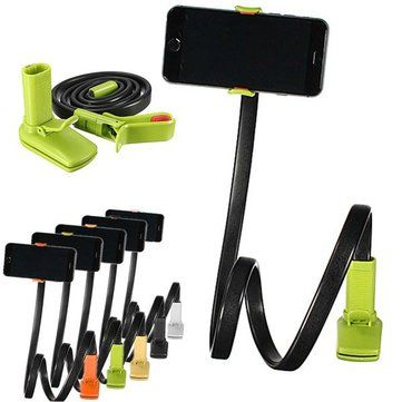 Lazy Phone Clip Long Flexible Holder Stand Bracket For iPhone 6