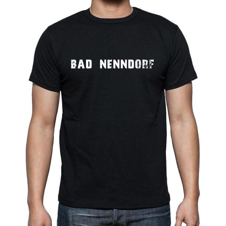 bad nenndorf, Men's Short Sleeve Rounded Neck T-shirt
