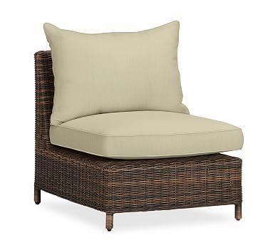Torrey Sectional Armless, Left Arm, U0026 Right Arm Cushion Slipcover,  Sunbrella. Outdoor PillowOutdoor Chair ...