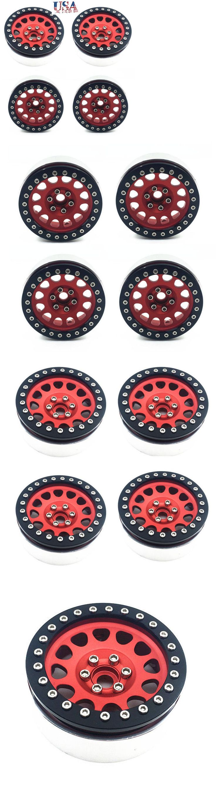 Wheels Tires Rims and Hubs 182201: 4 X 2.2 Aluminum Wheel Rims 1 10 Beadlock For Rc Crawler Axial Wraith Rock Cars -> BUY IT NOW ONLY: $58.49 on eBay!