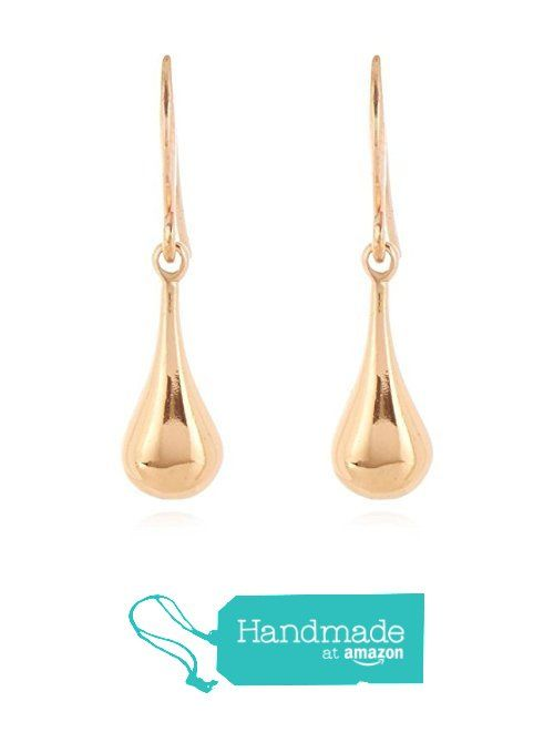 Rose Gold Vermeil Teardrop Earrings, (Rose Gold Plated Sterling Silver) from ClutchandClasp https://www.amazon.co.uk/dp/B01N7W95H3/ref=hnd_sw_r_pi_dp_dLUXybCRS8070 #handmadeatamazon