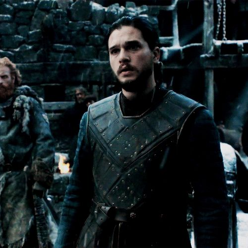 # GIF -JON SNOW- Game of Thrones Daily