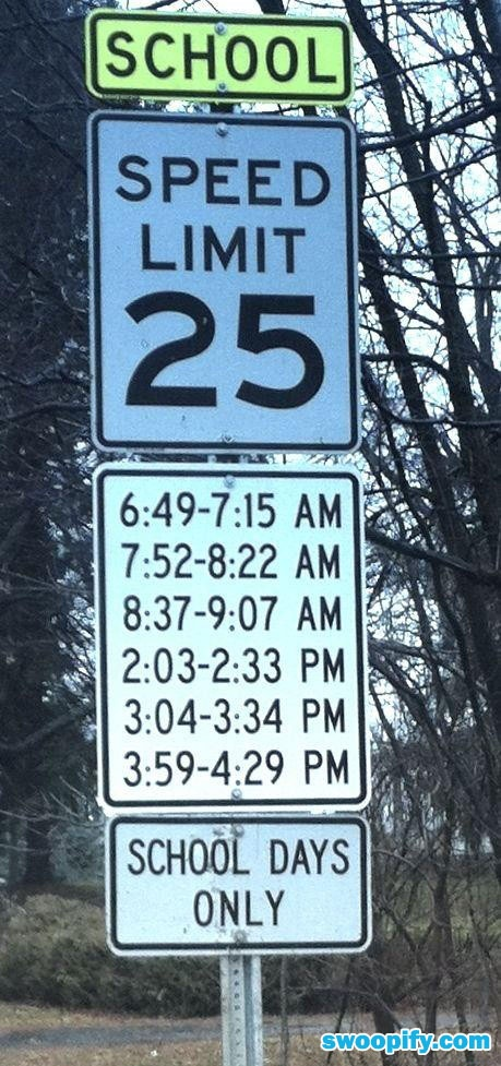 Confusing Speed Limit #humor #lol #funny