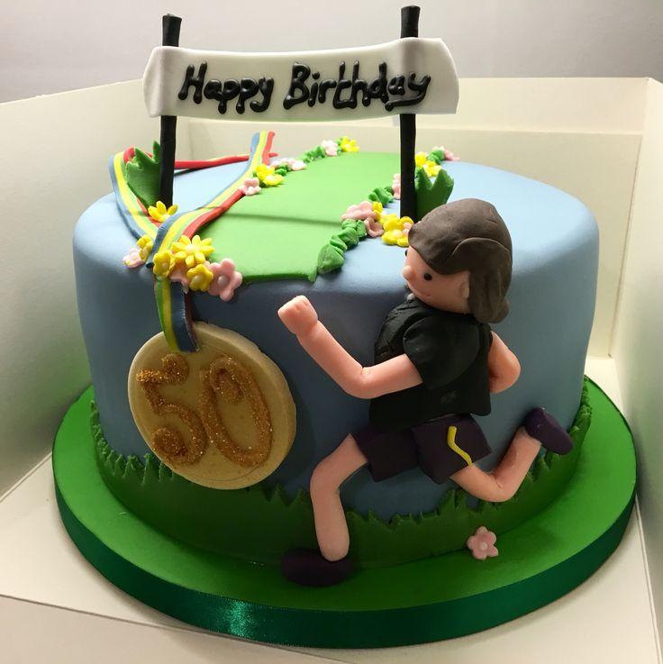 Lady Runner Cake Topper