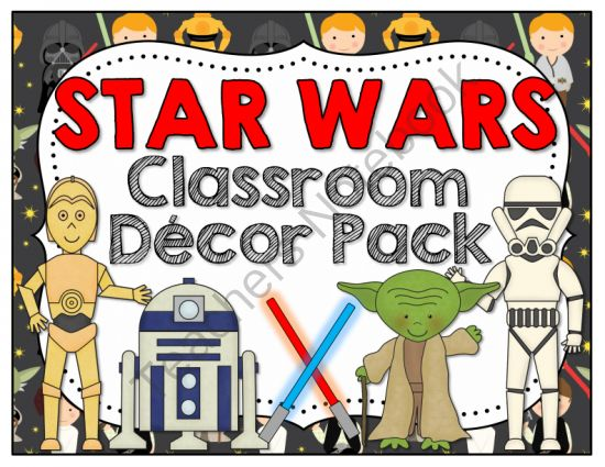 Classroom Decor Stars : Star wars classroom decor pack from barnard island on