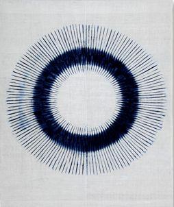 """2009 ~WA~ Ⅲ"" Junko Otsubo (Hiroshima) / SHIBORI COMMUNITY"