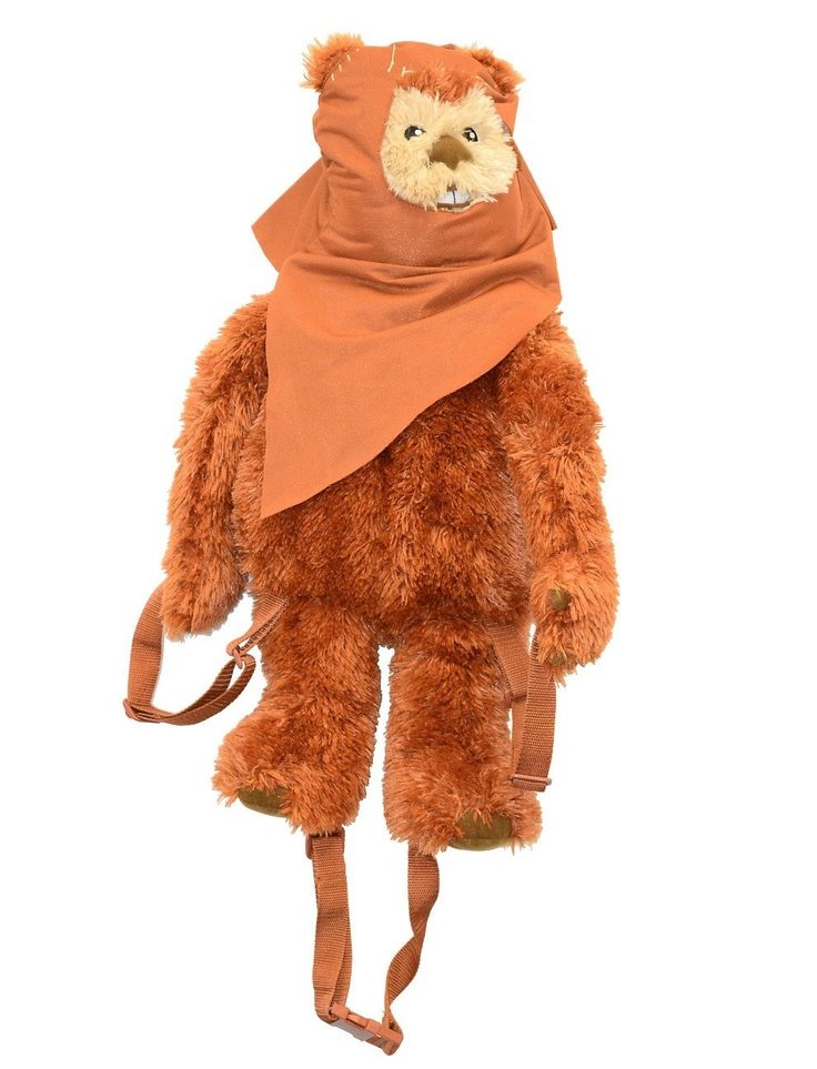 Disney Star Wars Wicket The Ewok Backpack Plush New With Tag