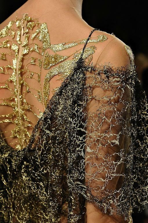 The Terrier and Lobster: Marchesa Fall 2012 Anatomical Dresses
