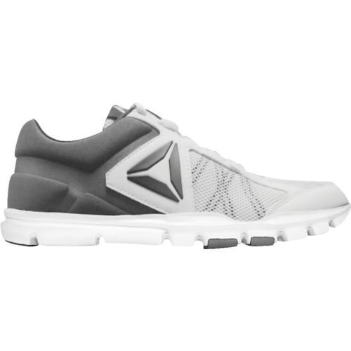 Reebok Men's YourFlex Train 9.0 MT Shoes (White/Grey, Size 12) - Men's Training Shoes at Academy Sports