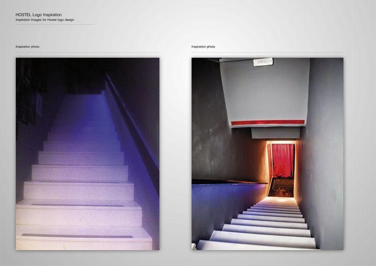 Corporate Identity Hostel_Upstairs_Late Bar_Logo Inspiration_Yianart