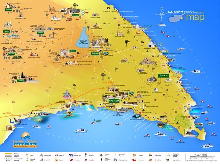 Famagusta general map
