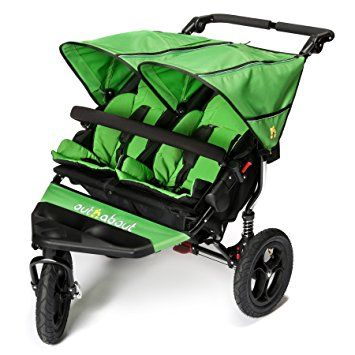Out n About Nipper Doppel v4 Kinderwagen Mojito Grün