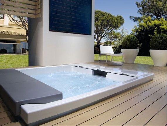 Seaside teuco minipool for a patio or veranda your personal paradise outdoor guests avion - Piscina da interno ...