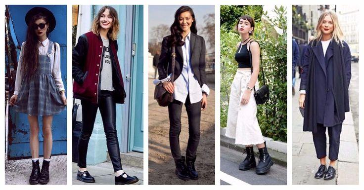 Με κορδόνια, Oxfords ή μποτάκια, τα Dr Martens σου αναβαθμίζουν το στυλ σου, απλώς κάνοντας τους σωστούς συνδυασμούς! 😉 ⚡ Με φόρεμα καρό ή φλοράλ ⚡ Με δερμάτινο παντελόνι ή ζυπκιλότ ⚡ Με σακάκι ή oversized παλτό Δες εδώ τη Νέα Συλλογή Dr Martens!