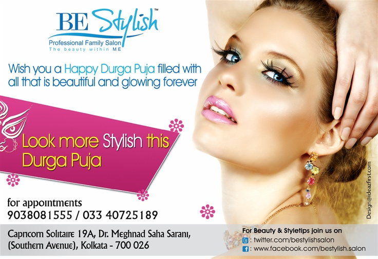 Be Stylish Salon - Ad Design