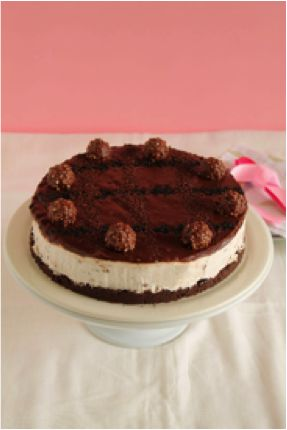 Ferrero Rocher Cheesecake 2
