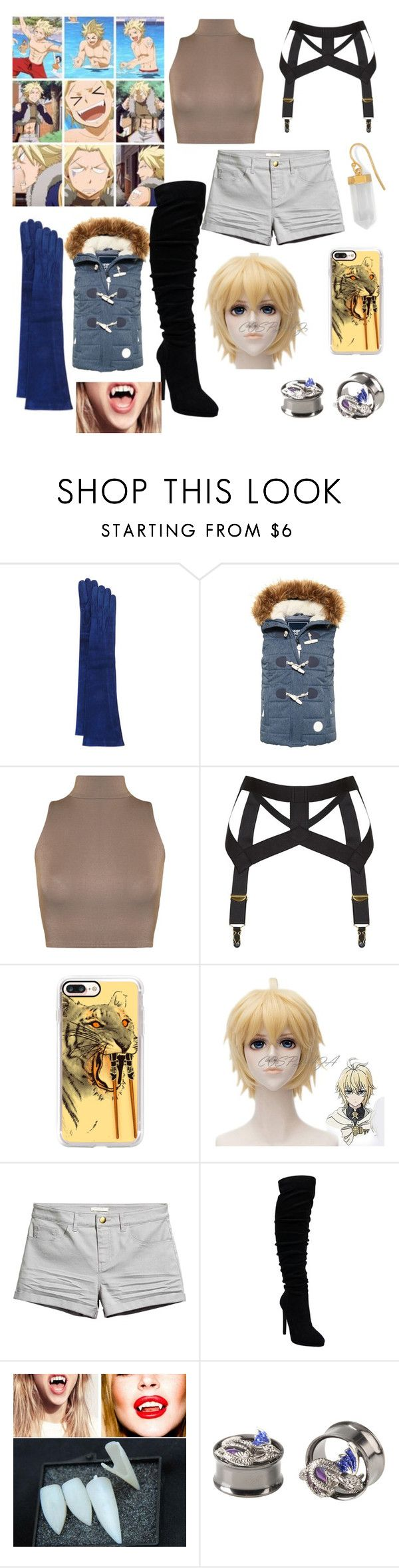 """Fairytail looks : Sting"" by maddog3861 ❤ liked on Polyvore featuring JB Guanti, Superdry, WearAll, Agent Provocateur, Casetify and BillyTheTree"
