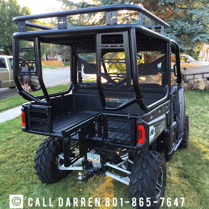 #polaris #polarisranger #polarisrangerxp #polarisranger900xp #rollcage #safarirack #hunting #fishing #utv #sidexside #sidebyside #fulltailgate #fullswingoutailgate #accessoryrack #sparetiremount #aluminumroof Ranger 900 & 1000 roll cage packages.  Call Darren for more info 801-864-7647. dranhall@gmail.com