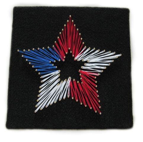 #handmadelove with Memorial Day & Independence Day right around the corner this would make a great deco piece from @thecraftpenguin