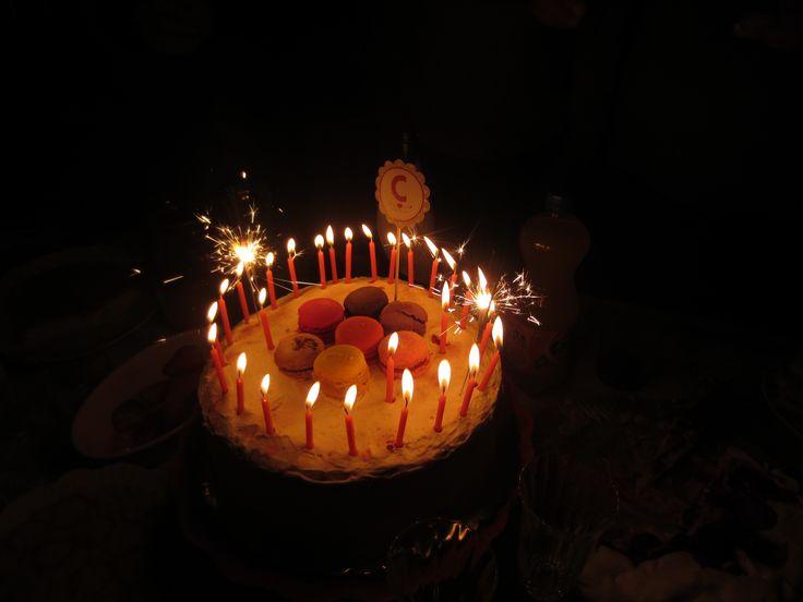 O segundo bolo de aniversário ;)