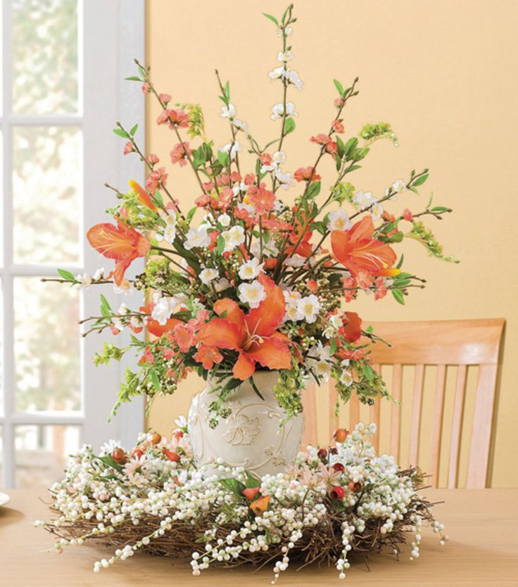 Spring blossom arrangementspring arrangement