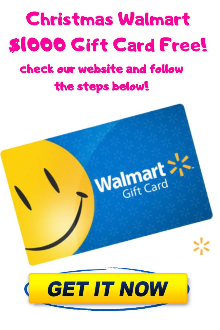 Enter to win christmas walmart 1000 gift card giveaway