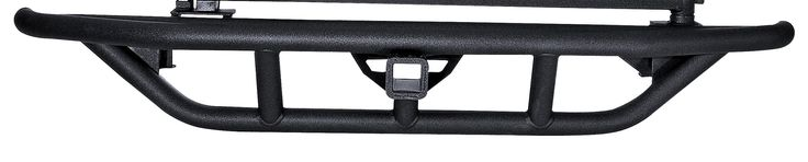 RRC Rear Bumper, 2 Inch Receiver Hitch; 87-06 Jeep Wrangler YJ/TJ