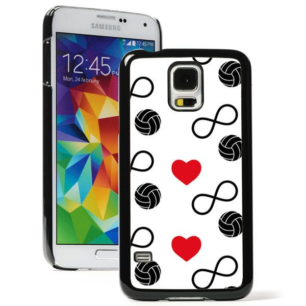 For Samsung Galaxy S3 S4 S5 S6Edge Hard Case 999 Infinity Love Volleyball Hearts in Cell Phones & Accessories, Cell Phone Accessories, Cases, Covers & Skins | eBay