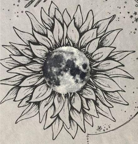 Tattoo Sunflower Moon Flower 54 Ideas For 2019